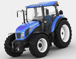 3d new holland td5 tractor