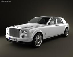 rolls-royce phantom 2011 3d