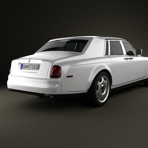 rolls-royce phantom 2011 3d model max obj 3ds fbx c4d lwo lw lws 5
