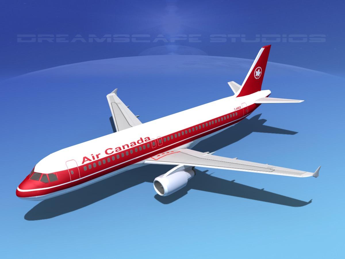 Airbus A320 LP Air Canada