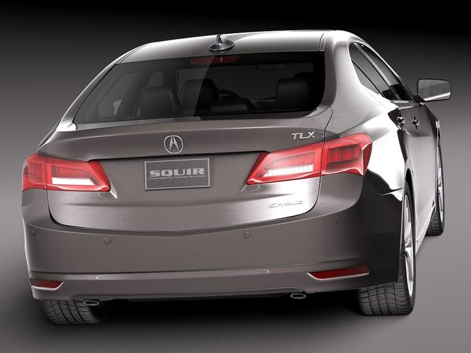 Acura tlx 2014 3d model autos post for Southern motors acura savannah ga