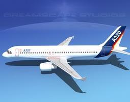A320 LP Airbus 1 3D Model
