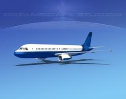 Airbus A320 LP Corporate 7 3D Model