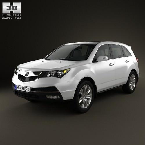 3D Model Acura MDX 2011
