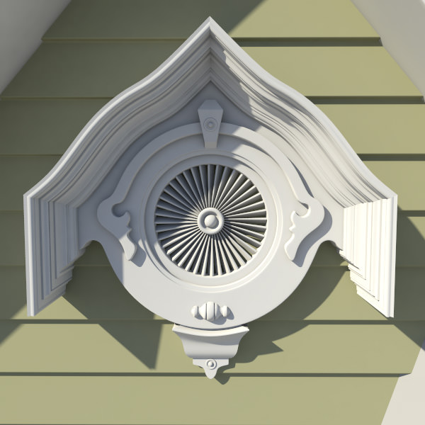 Decorative Gable Vent Iron Blog