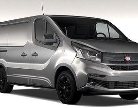 3D Fiat Talento Van L1 2017