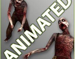 Male Zombie Generic 3D Model