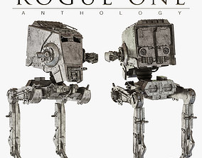 Star Wars AT-ST walker 3D model
