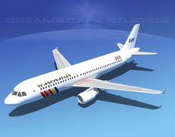 Airbus A320 LP SAS 3D model