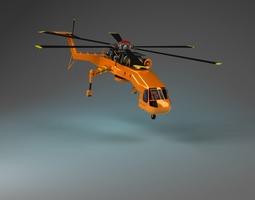 Skyliftt Helicopter 3D Model