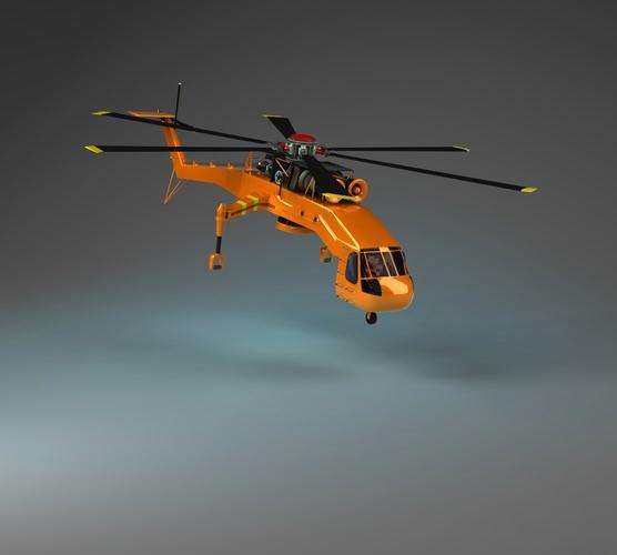 Skyliftt Helicopter3D model