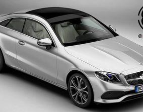 3D Mercedes E Class Coupe 2017