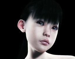 Yukimi for Gensis 2 Female 3D Model