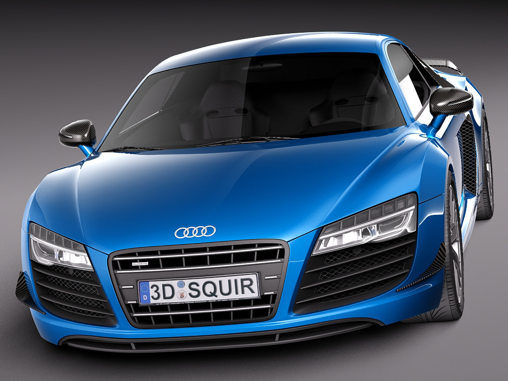 audi r8 lmx 2015 3d model max obj 3ds fbx c4d lwo. Black Bedroom Furniture Sets. Home Design Ideas