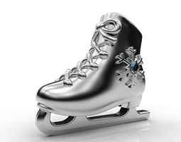 Pendant IceSkates 3D printable model