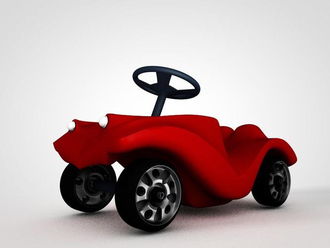 bobby car3D model