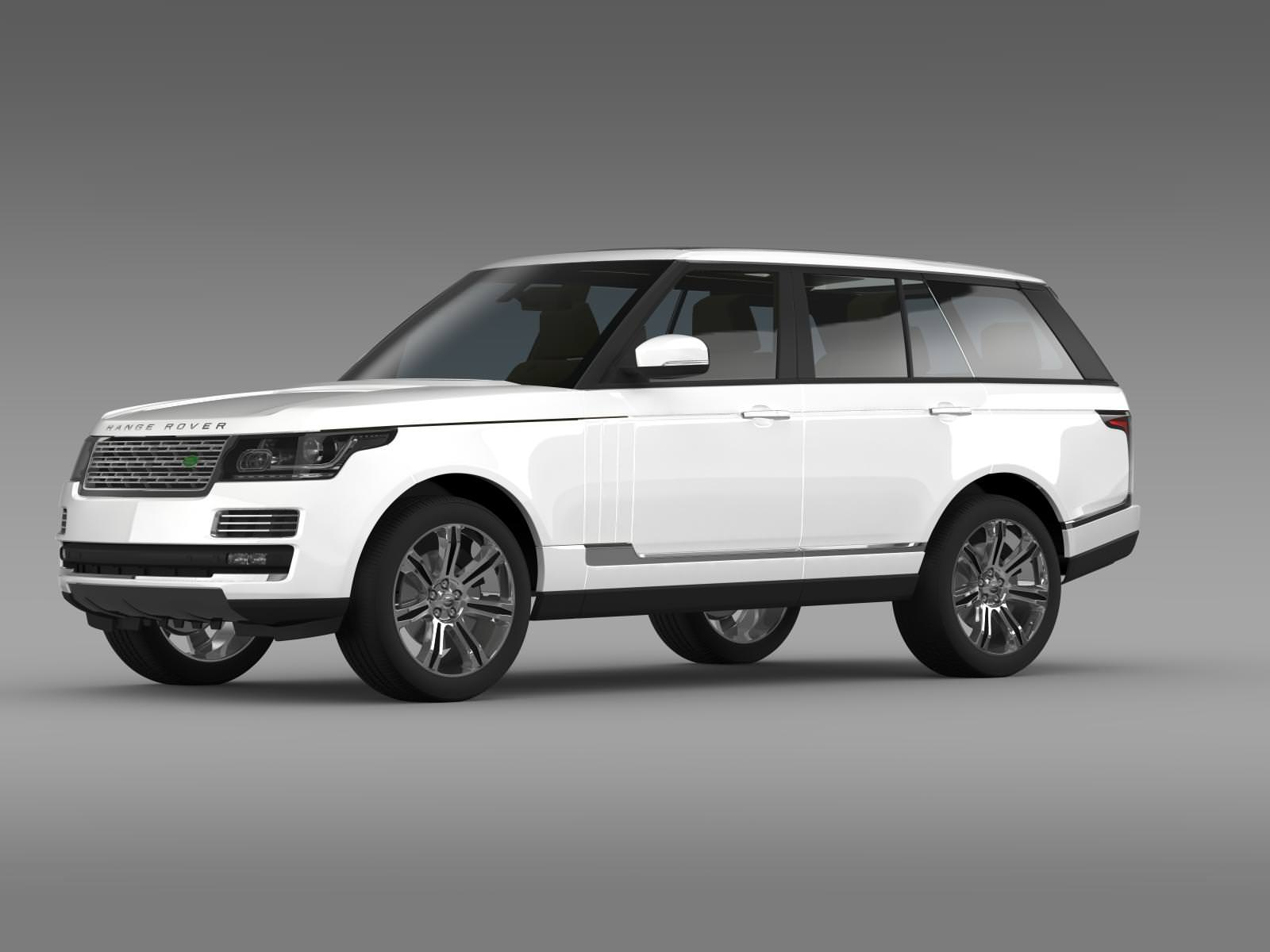 range rover autobiography black l405 2014 3d model max obj 3ds fbx c4d lwo lw lws. Black Bedroom Furniture Sets. Home Design Ideas