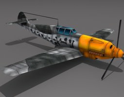 Messerschmitt BF 109 3D Model