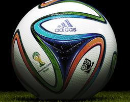 Brazuca Soccer Ball 3D Model