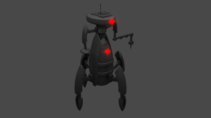 Research Robot3D model