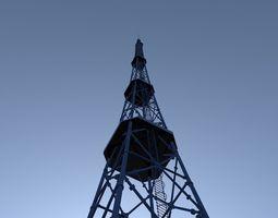 3D model TV tower