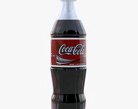 3D model soda Cola bottle
