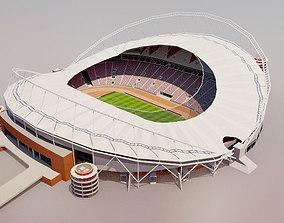 Khalifa International Stadium - Doha 3D asset
