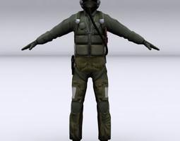 3d fighter pilot