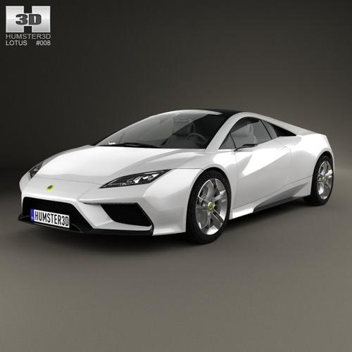 Lotus Esprit 20103D model