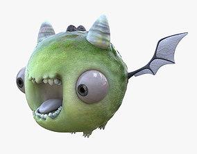 3D model Toy monster