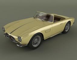 Maserati 150GT Spider 3D Model