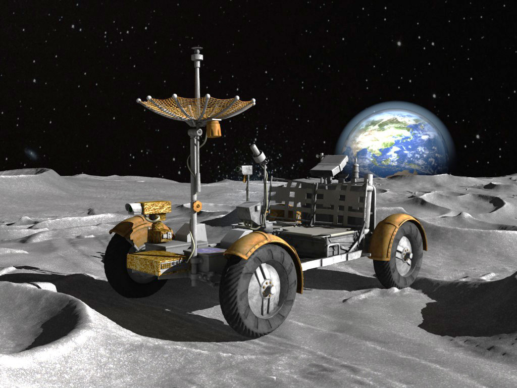 lunar space car - photo #4