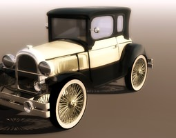 Ford 1930 Prototype 3D Model