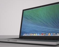 3D model Macbook pro retina 13 inch