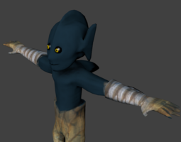 Fisher man 3D Model