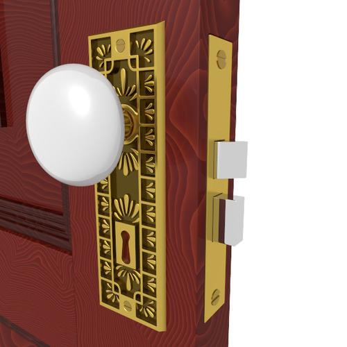 Door Knob Hardware 43D model