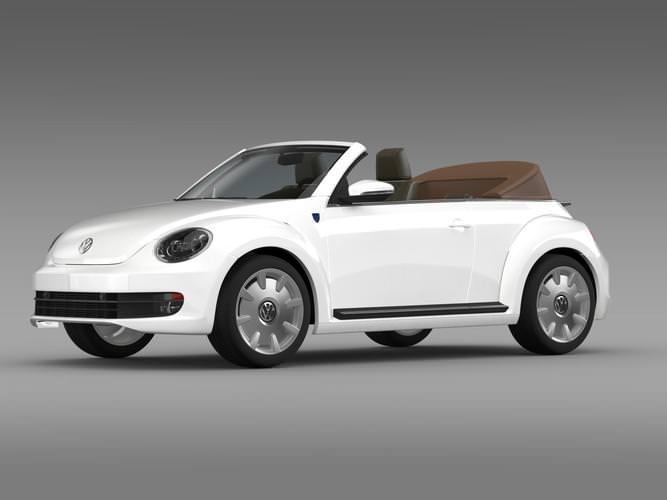 Karmann Beetle Cabrio 20143D model