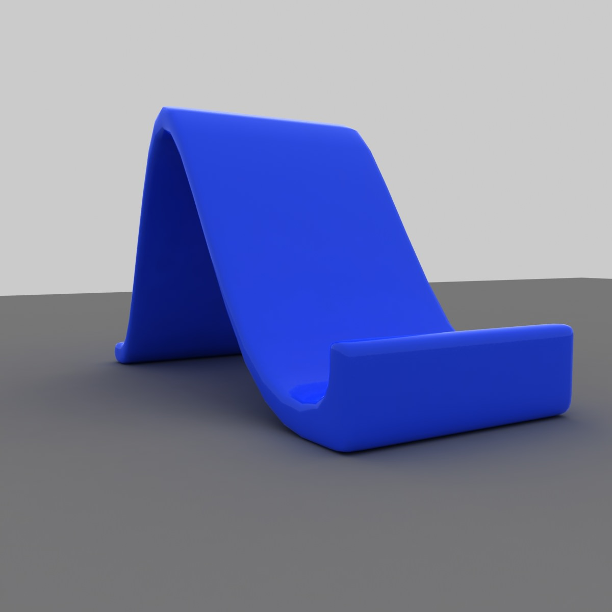 Standard Tablet Or Phone Holder 3d Model 3d Printable Stl