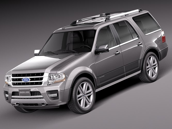 Ford Expedition 2015 3D model