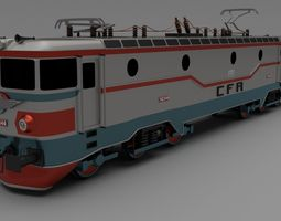 Class 42 Electric Locomotive 3D Model