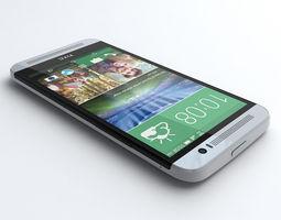 HTC One E8  3D Model