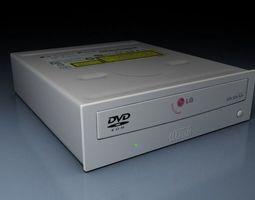 DVD R W read writer 3D Model