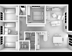 Interior House full modeled