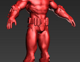 3D printable model Nethan Man a builder toy