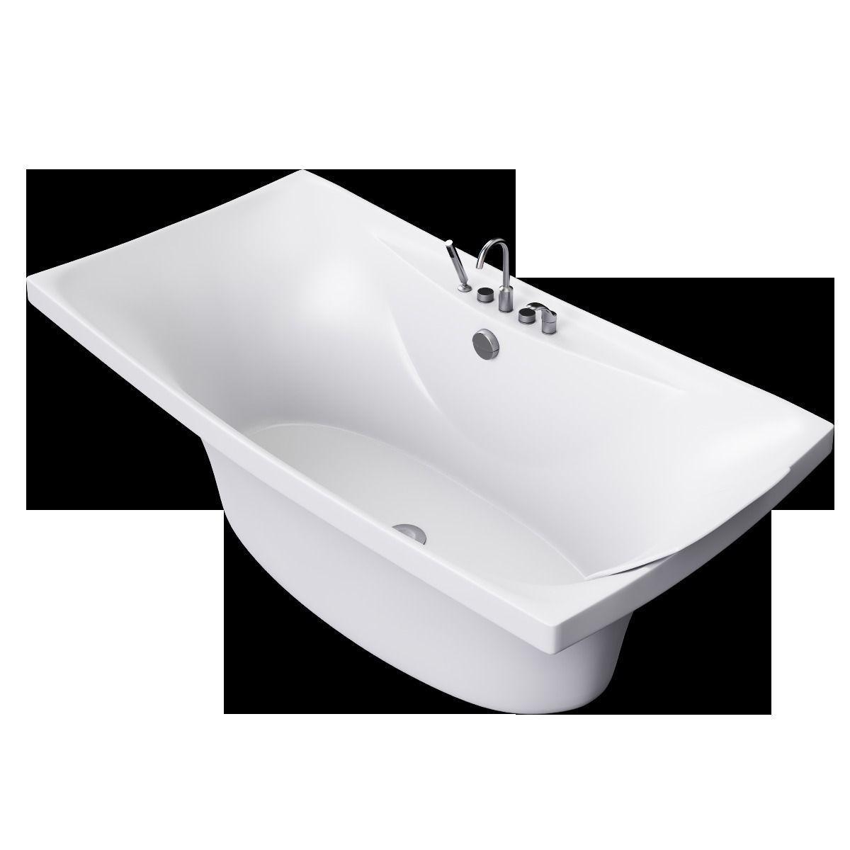 bath jacob delafon escale 3d model max cgtrader. Black Bedroom Furniture Sets. Home Design Ideas