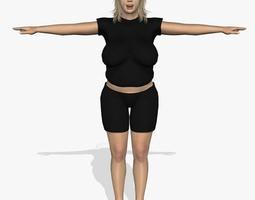 Fatty Women A28 3D model