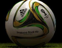 3D model Brazuca Final Soccer Ball