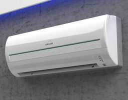 Samsung - Split Air Conditioner 3D