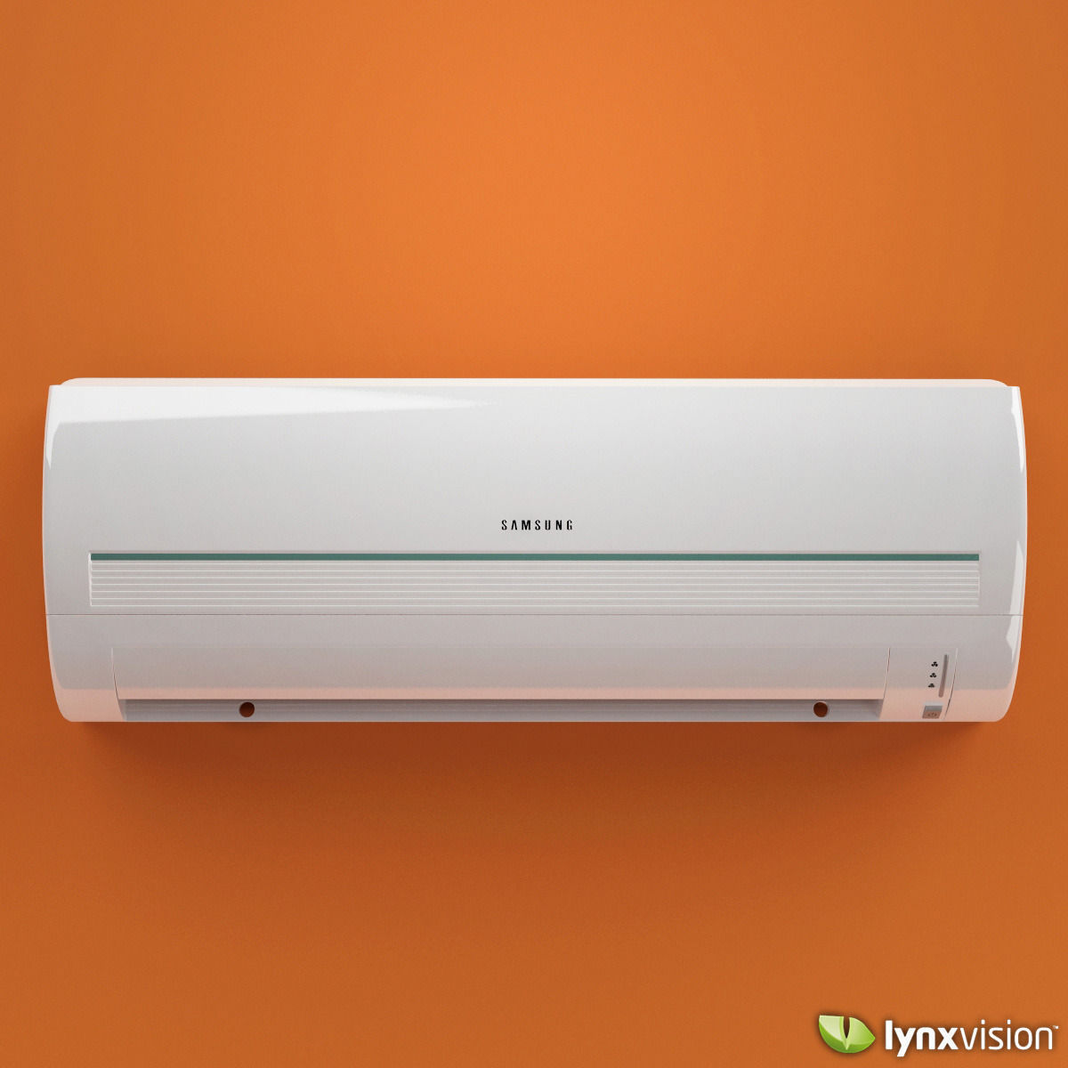 Samsung - Split Air Conditioner 3D Model .max .obj .fbx ...