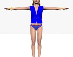 City Queen Heena 3D Model